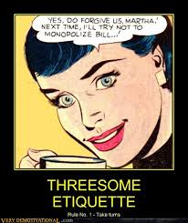 Threesome rules camping