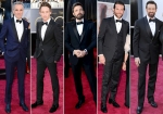 """Best dressed"" men at Oscars"