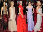 """Best dressed"" women at Oscars"