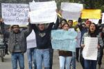 Men protest rape in New Delhi