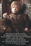 The dwarf, Tyrion Lannister
