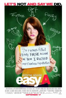 "Emma Stone, ""Easy (scarlet letter) A"""