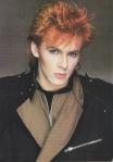 Duran Duran's Nick Rhodes, all made up