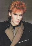 Duran Duran's Nick Rhodes, all made up