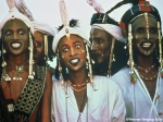 Wodaabe men of Niger