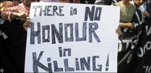 There is no honor in killing innocent victims