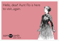 A visit from Aunt Flo