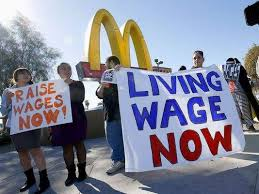 McDonald's: Living Wage Now!