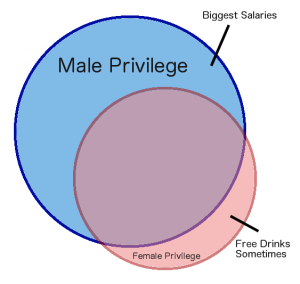 Female privilege versus male privilege