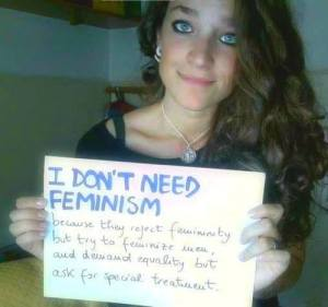 WTF? Women Against Feminism?