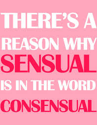 Consensual is sensual