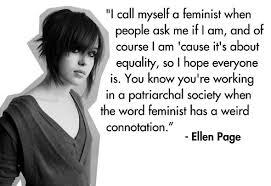 Ellen Page on feminism