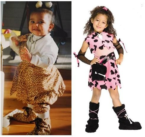 Halloween Costumes, Then and Now 1