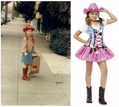Halloween Costumes, Then and Now 2