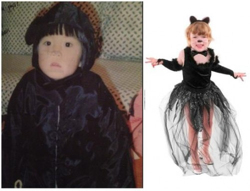Halloween Costumes, Then and Now 4