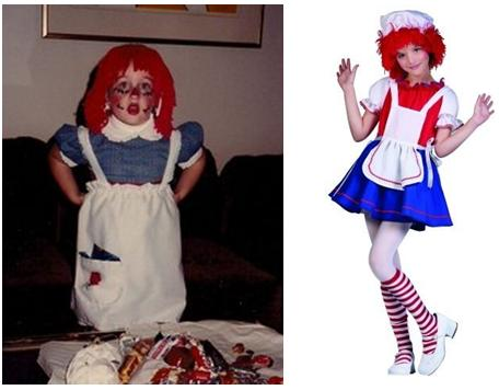 Halloween Costumes, Then and Now 6