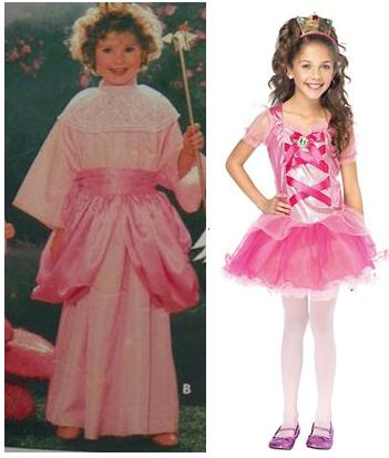 Halloween Costumes, Then and Now 7