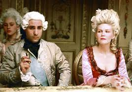 Marie Antoinette and King Louis XVI (played by Jason Schwartzman and Kirsten Dunst)