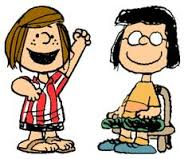 Peppermint Patty and Marcie
