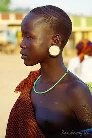 Woman of southwestern Ethiopia