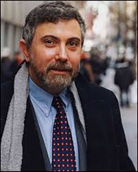 Paul Krugman, Princeton economics professor, Nobel Laureate, and New York Times columnist