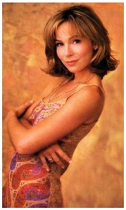 "Jennifer Grey, ""after."" Pretty, but in a more ordinary way."