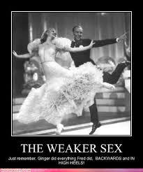 Women as the weaker sex