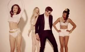 Robin Thicke objectifying women