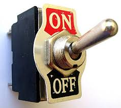 Turned on? Or off?