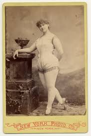 1890's erotic dancer