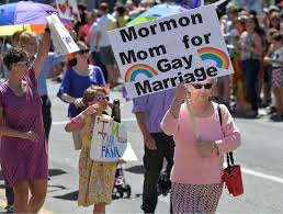 Mormon mom for gay marriage