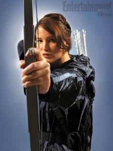 The Hunger Games Katniss (Jennifer Lawarence)