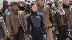 Katniss leading the army