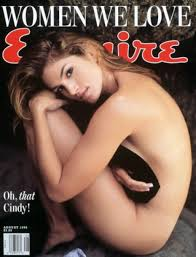 Cindy Crawford on Esquire