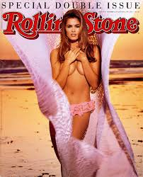 Cindy Crawford on Rolling Stone cover