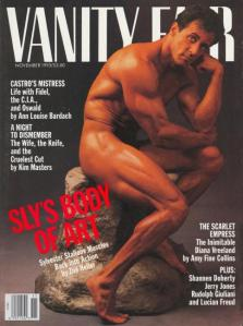 Sly Stallone on Vanity Fair Cover