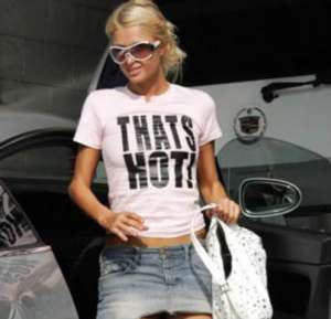 """Paris Hilton, """"That's hot!"""""""