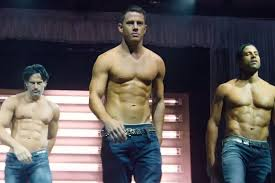 Channing Tatum shirtless