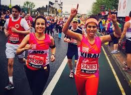 """Free bleeders"" like Kirin Gandhi, running a marathon."