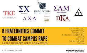 Some fraternities are fighting rate culture!