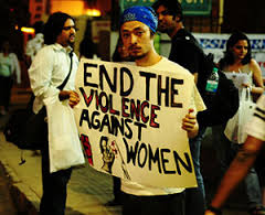 End the violence against women!