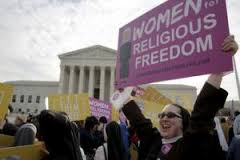 Only women who are nuns get religious liberty?