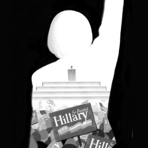 Hillary Rodham Clinton makes history.