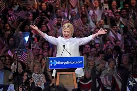 HRC wins nomination.