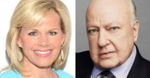 Gretchen Carlson and Roger Ailes