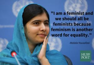 Feminist, Malala