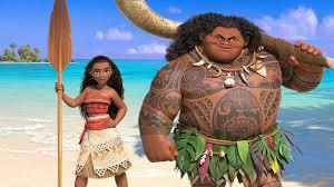 Disney's Moana and Maui