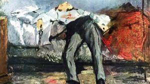"""""""Le Suicidé"""" by Edouard Manet"""